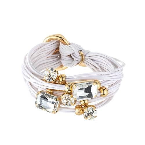 Large square crystal bracelts
